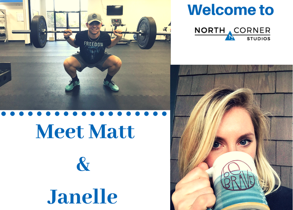 Meet our New Coaches Matt and Janelle